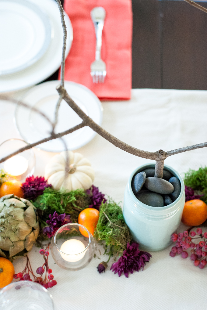 fall thanksgiving tablescape jewel tones-11