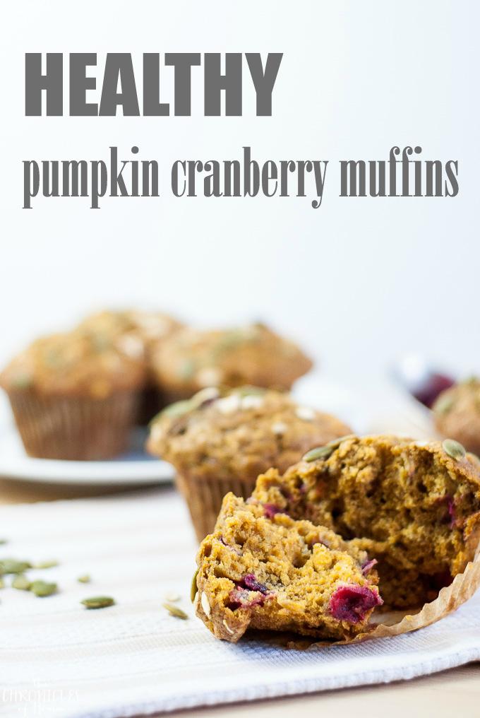 pumpkin cranberry muffins-3T