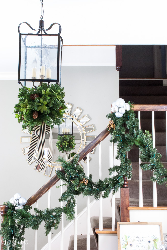 How to decorate for Christmas using cable ties. Easy tips for adding some Christmas festivity to your house in seconds!