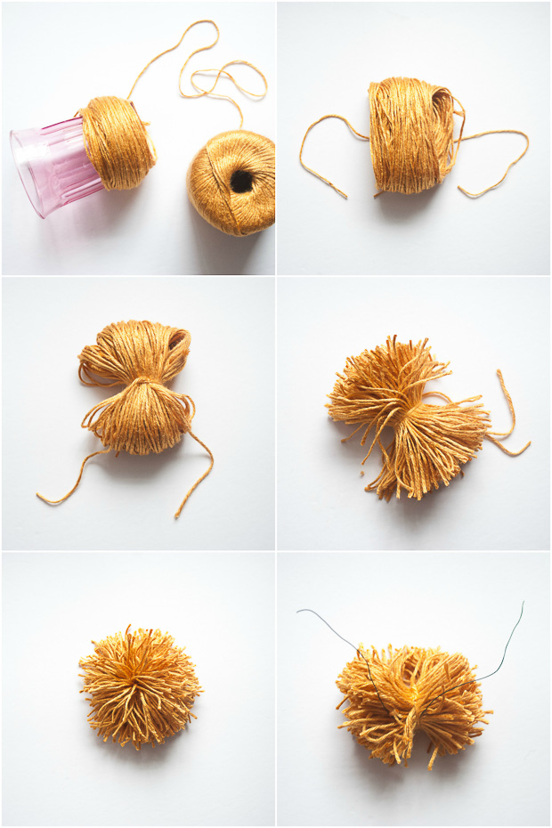 DIY pom pom basket collage-2