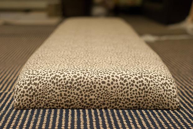 DIY upholstered dining bench-12