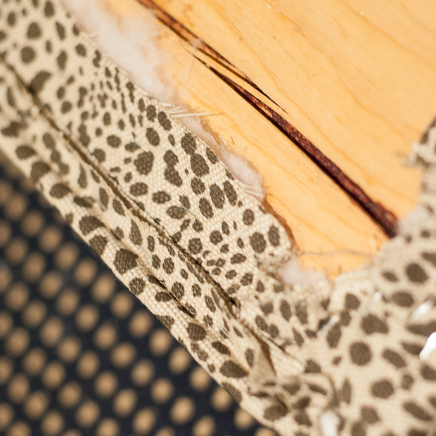 DIY upholstered dining bench-14
