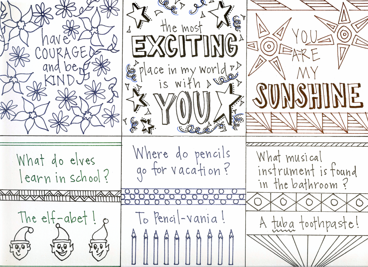 image about Printable Lunchbox Notes called Printable Lunch Notes - The Chronicles of Household