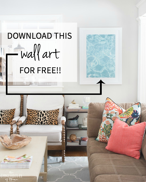 Download this stunning abstract print for FREE!
