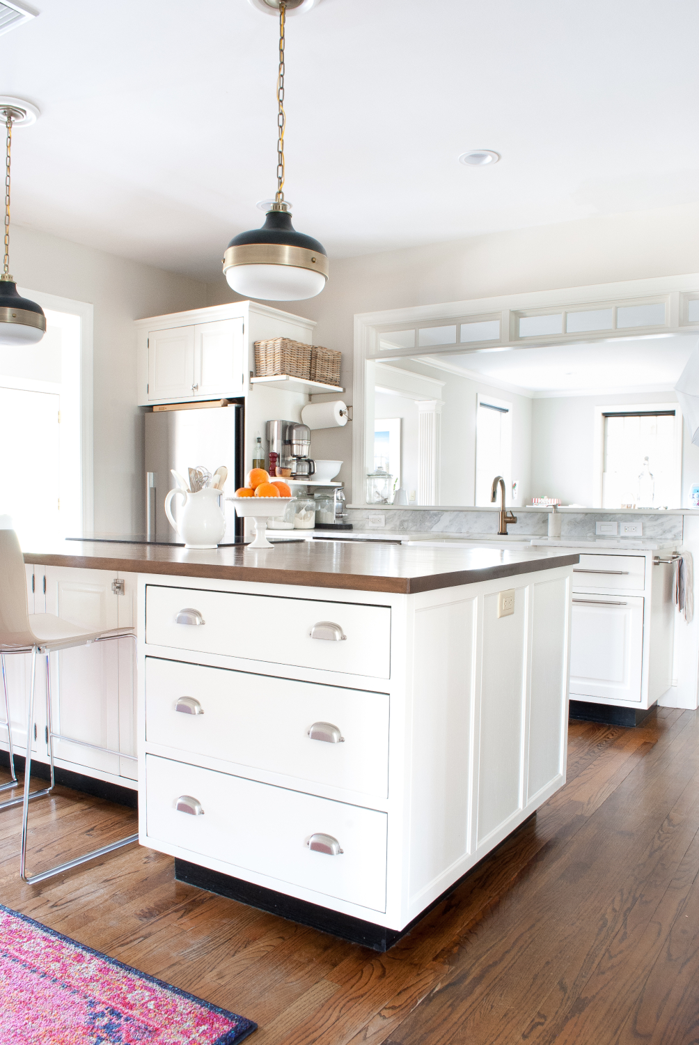 How to Add Detail to a Plain Kitchen Island - The Chronicles of Home