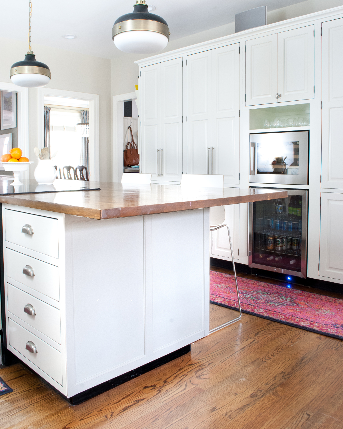 Medium image of how to add trim to a plain kitchen island or plain cabinets for a custom look