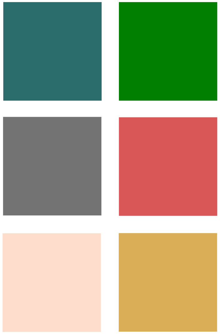 Cheerful Bedroom Color Palette