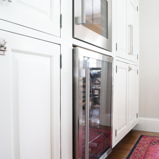 Adding a Built In Wine Fridge in the Kitchen