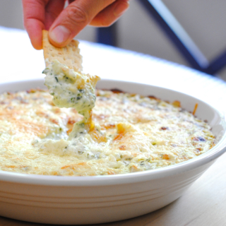 The Best Creamy Spinach Artichoke Dip