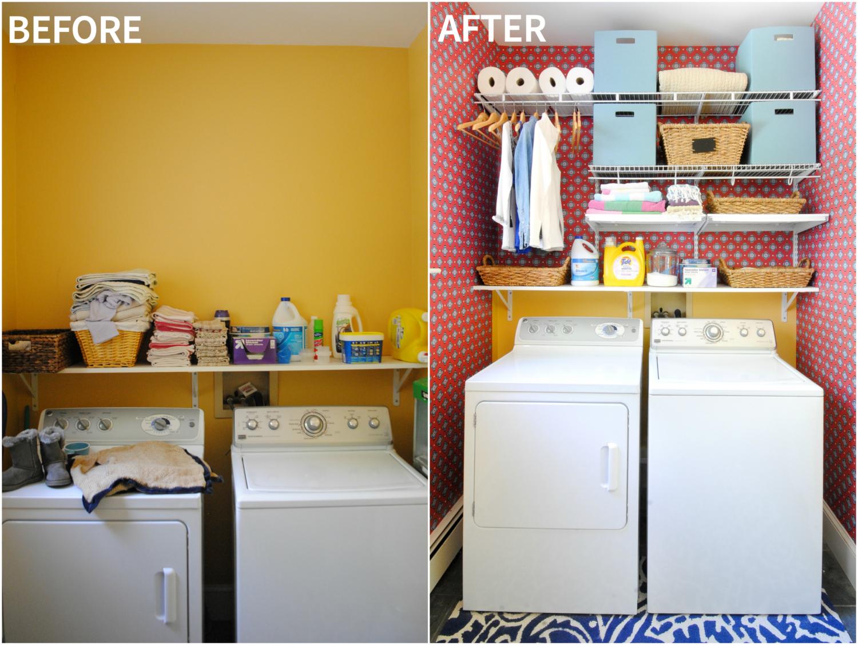 laundry room organization BA