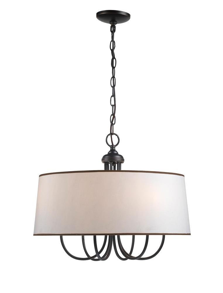 Clic Elegant Lighting Drum Shade Chandelier Pendants Priced On A Budget