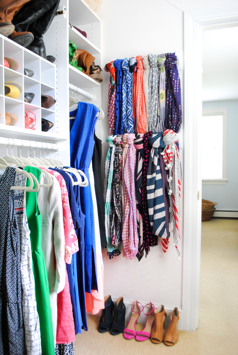 Scarf Hanger Closet Organization Ideas The Chronicles