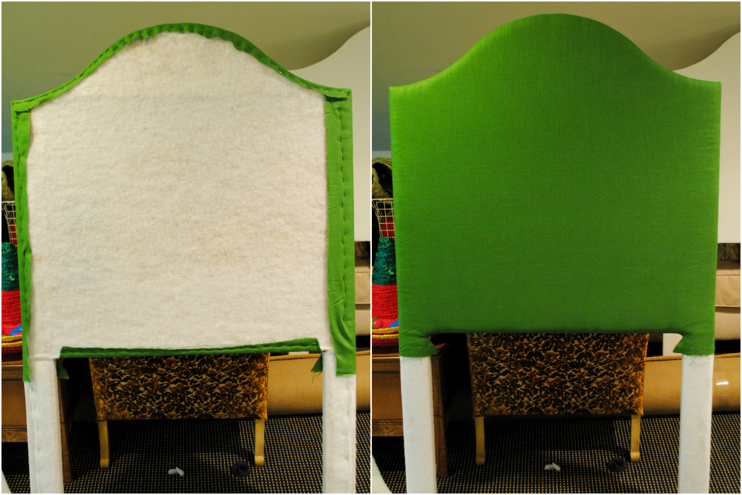 DIY upholstered headboard-13