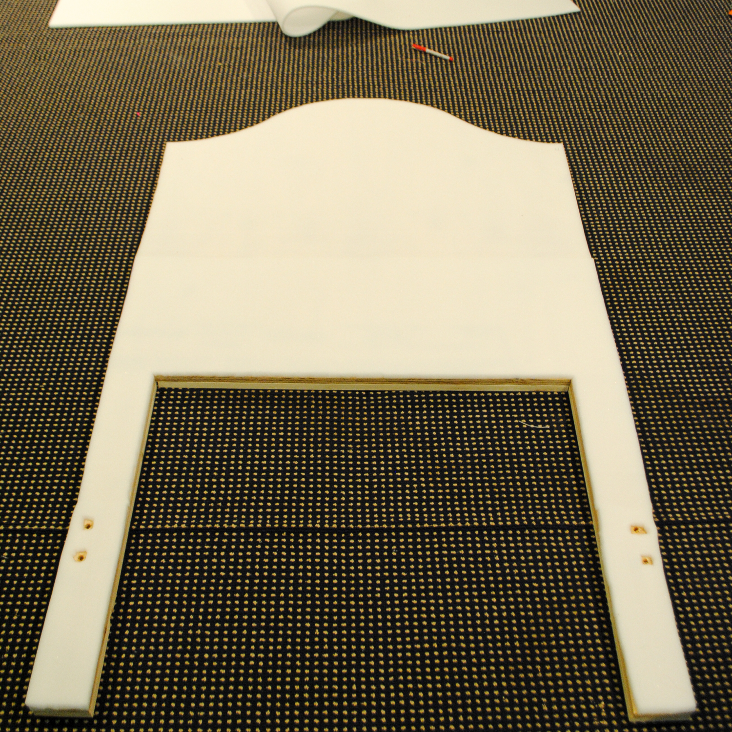 DIY upholstered headboard-6