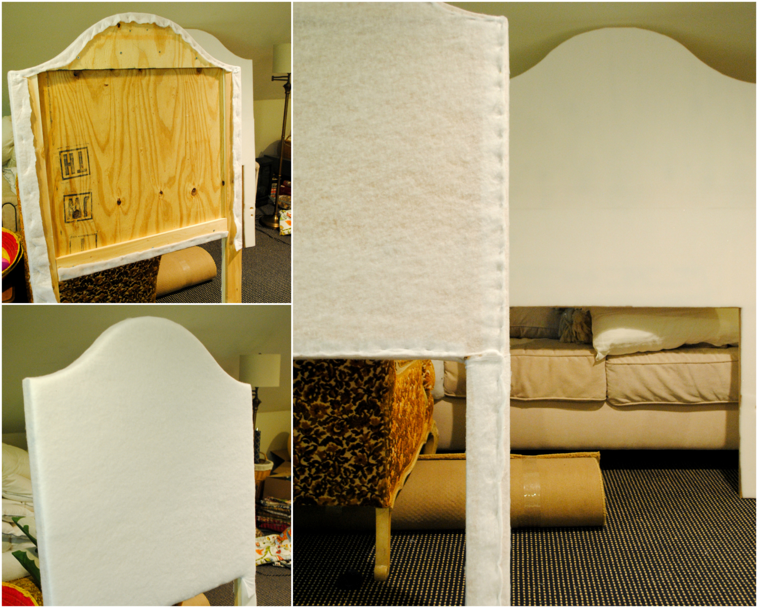 DIY upholstered headboard-7