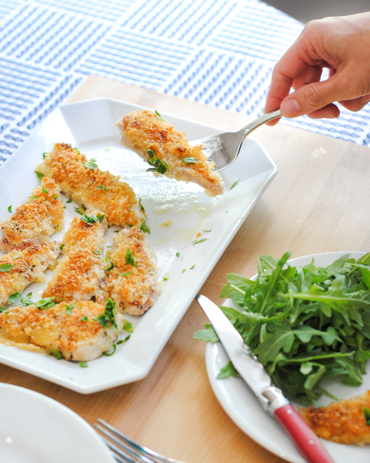 Easy baked crispy chicken cutlets recipe the chronicles of home the easiest breaded chicken cutlets recipe ever baked in the over and ready in 20 forumfinder Images
