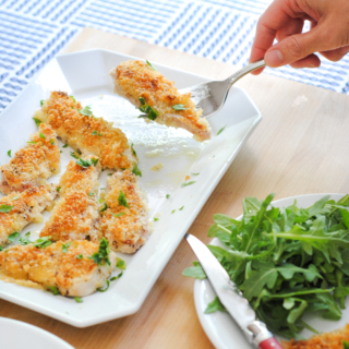 Easy Baked Crispy Chicken Cutlets Recipe