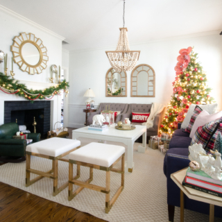 Christmas Tour 2016 – Living Room and Dining Room