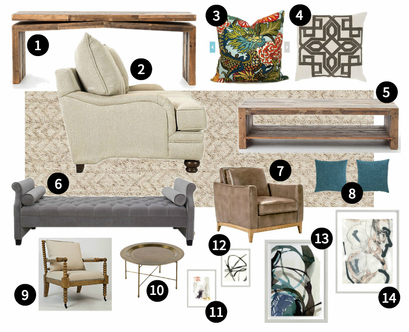 family room makeover plans