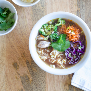 Asian Broth Bowl Recipe – 20 Minutes and Whole30/Paleo!