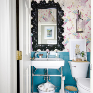 Small Powder Room Makeover