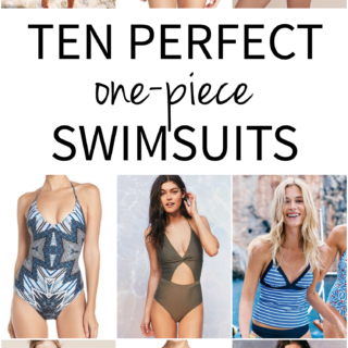 Ten Perfect One Piece Swimsuits