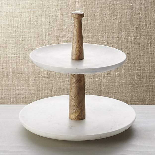 Marble tiered server