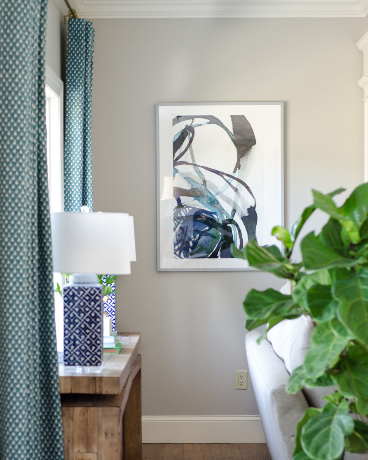 Custom framed art prints and practical, actionable tips on how to choose artwork for a room