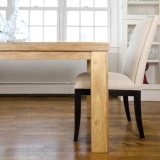 Affordable Farmhouse Table – Breakfast Nook Project