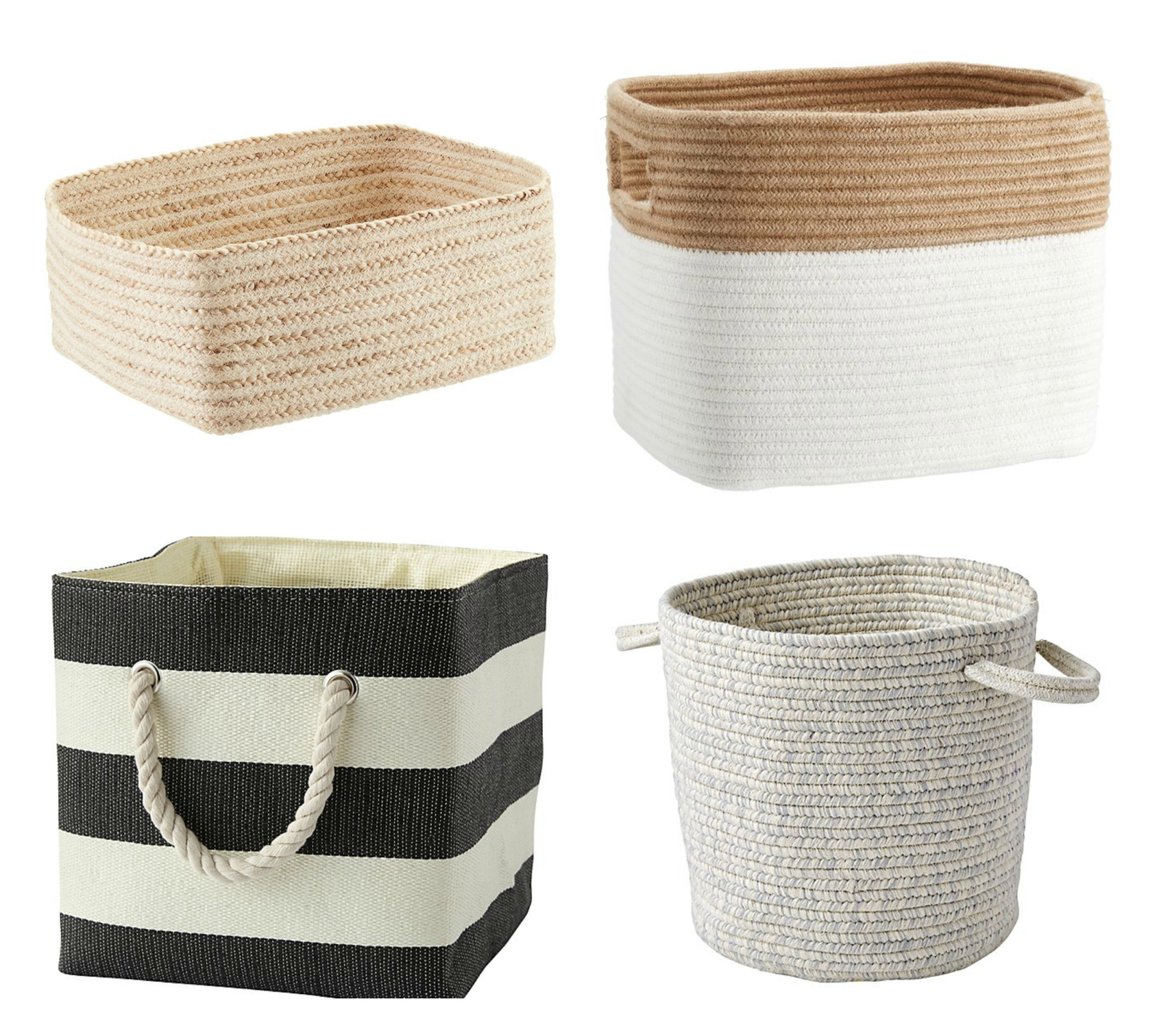 Twenty stylish, affordable mudroom baskets