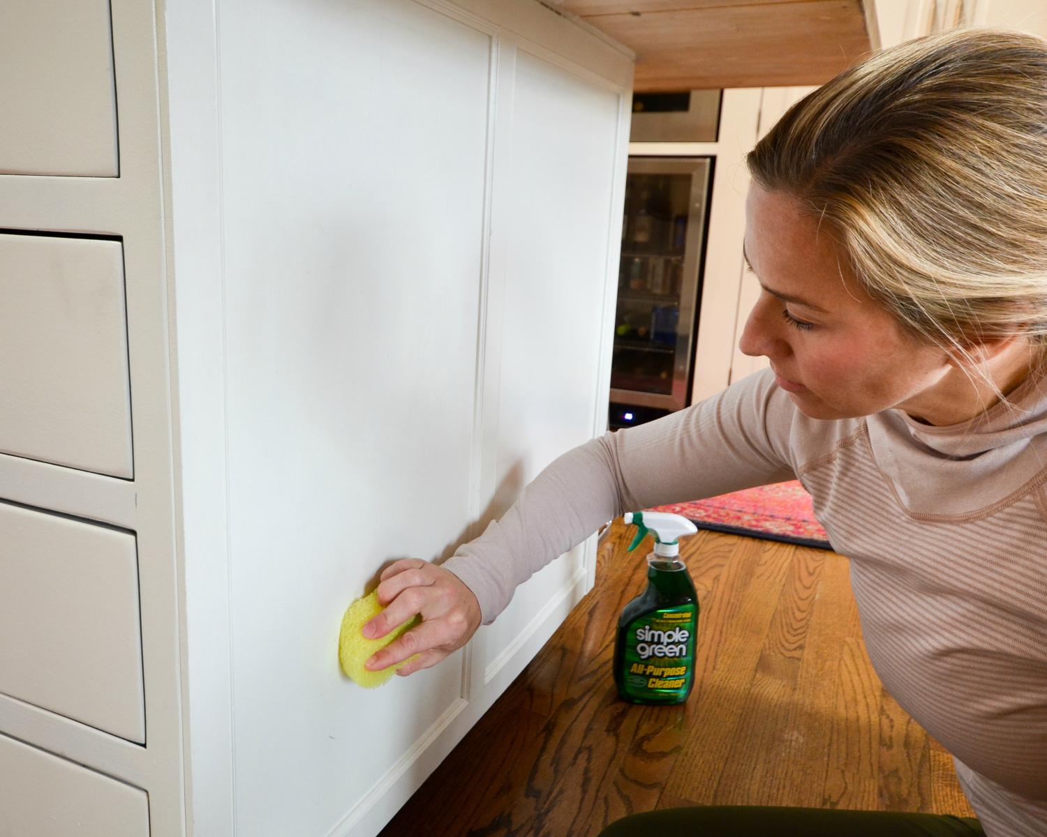 Spring cleaning kitchen cabinets - Deep Clean And Condition Counters