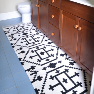 How to Sew Two Small Rugs Together to Make a Custom Runner