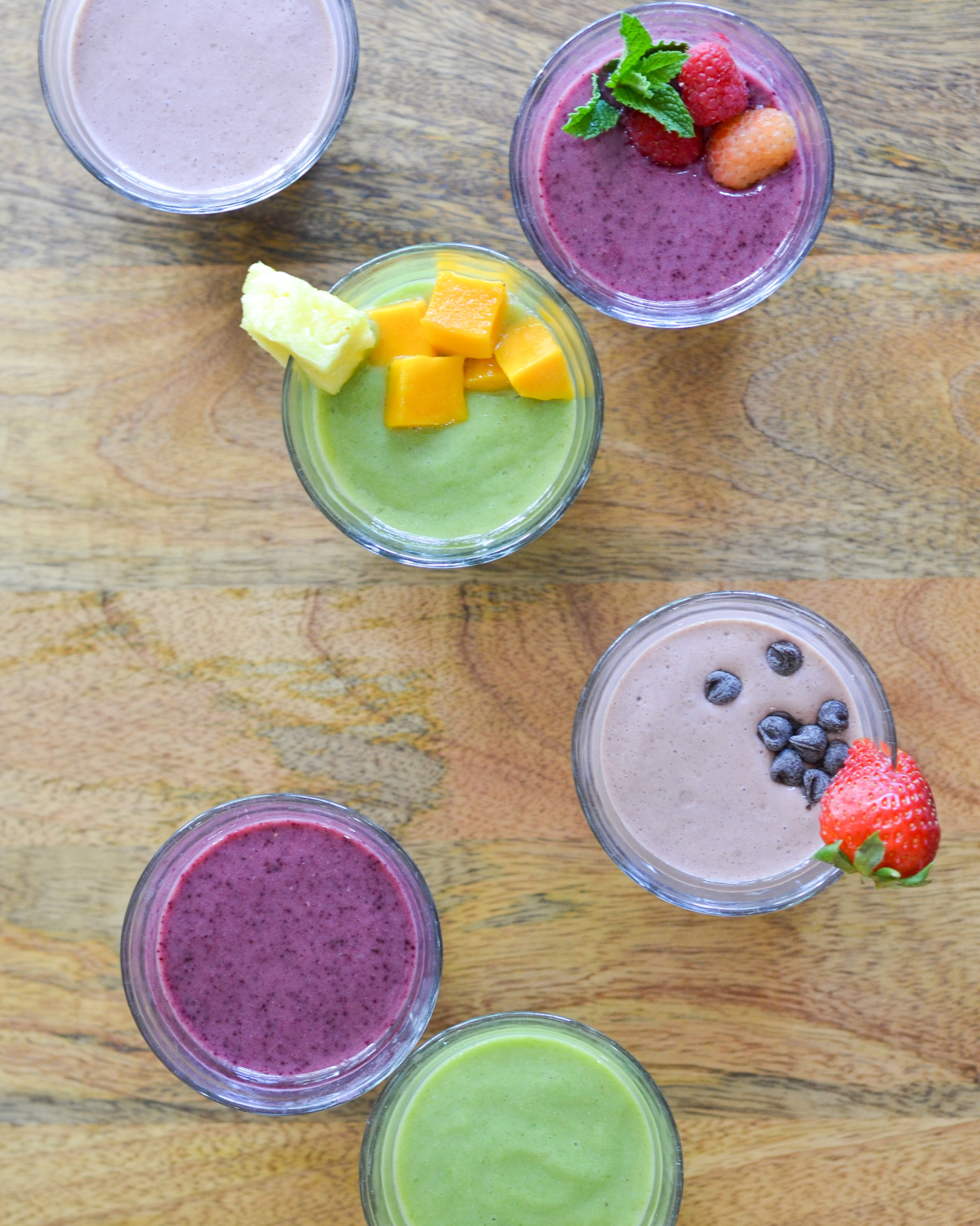 Three protein smoothie recipes that are packed full of protein, fiber, probiotics, vitamins, and minerals AND they taste amazing!