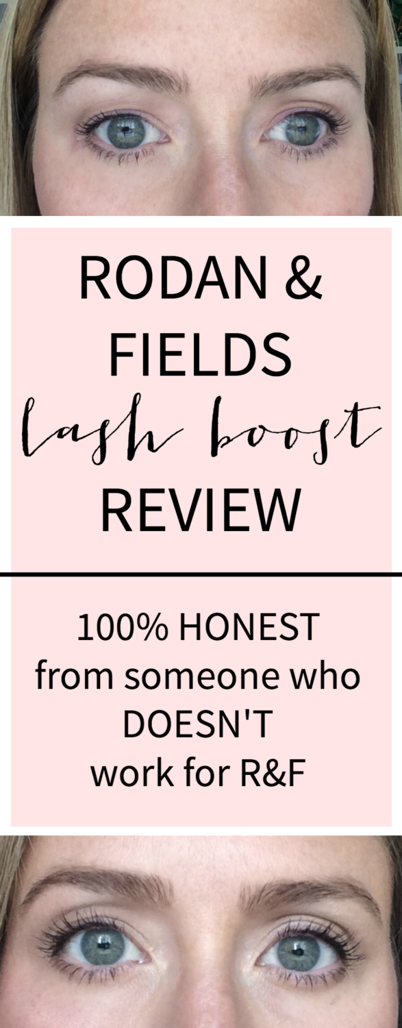 Rodan and Fields Lash Boost review - an honest review from a customer, NOT a Rodan and Fields consultant!