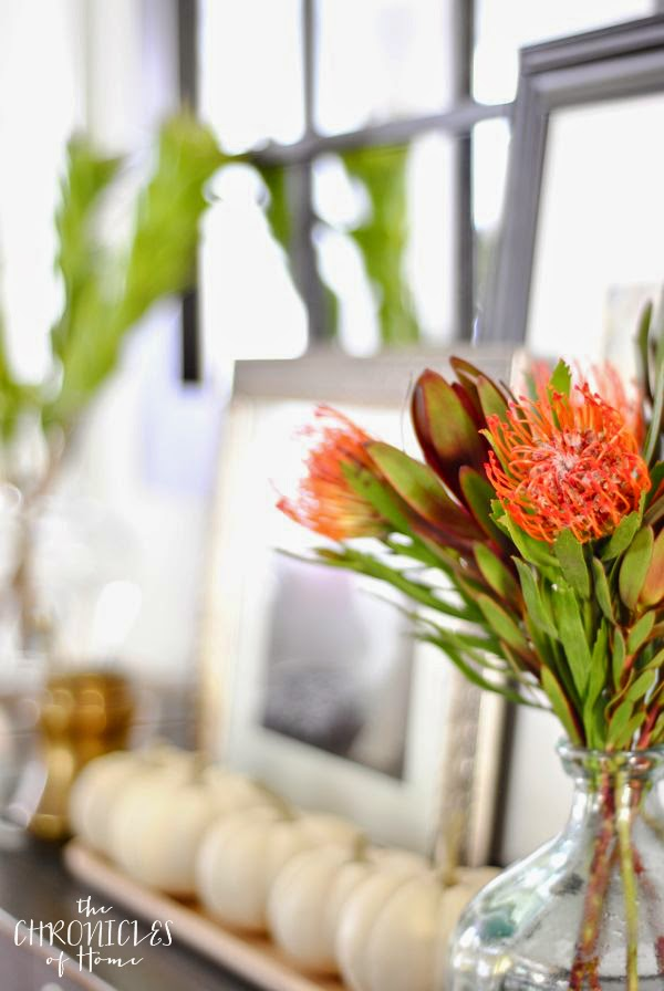 Fall flowers plus ten simple, easy fall decorating ideas you can bring into your home this season for perfect, subtle fall charm.