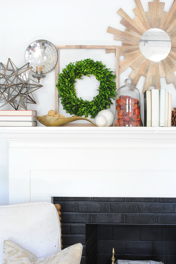 Fall mantle plus ten simple, easy fall decorating ideas you can bring into your home this season for perfect, subtle fall charm.