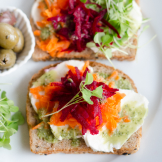 Easy Open Faced Sandwiches – Healthy Lunch Ideas