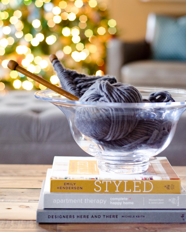 Classic Christmas knitting. 2017 Holiday Housewalk