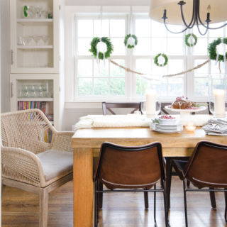 2017 Christmas Kitchen and Dining Room