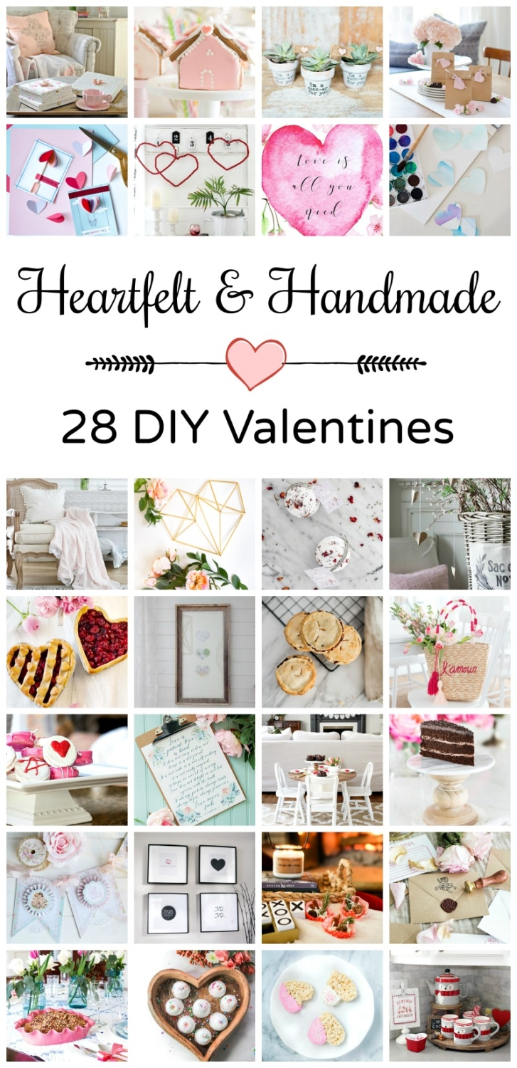 Huge collection of DIY Valentine's Day ideas - everything from crafts to food to decor!