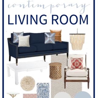 How to Pick a Paint Color + Living Room Plans (Behr Color Clinic)