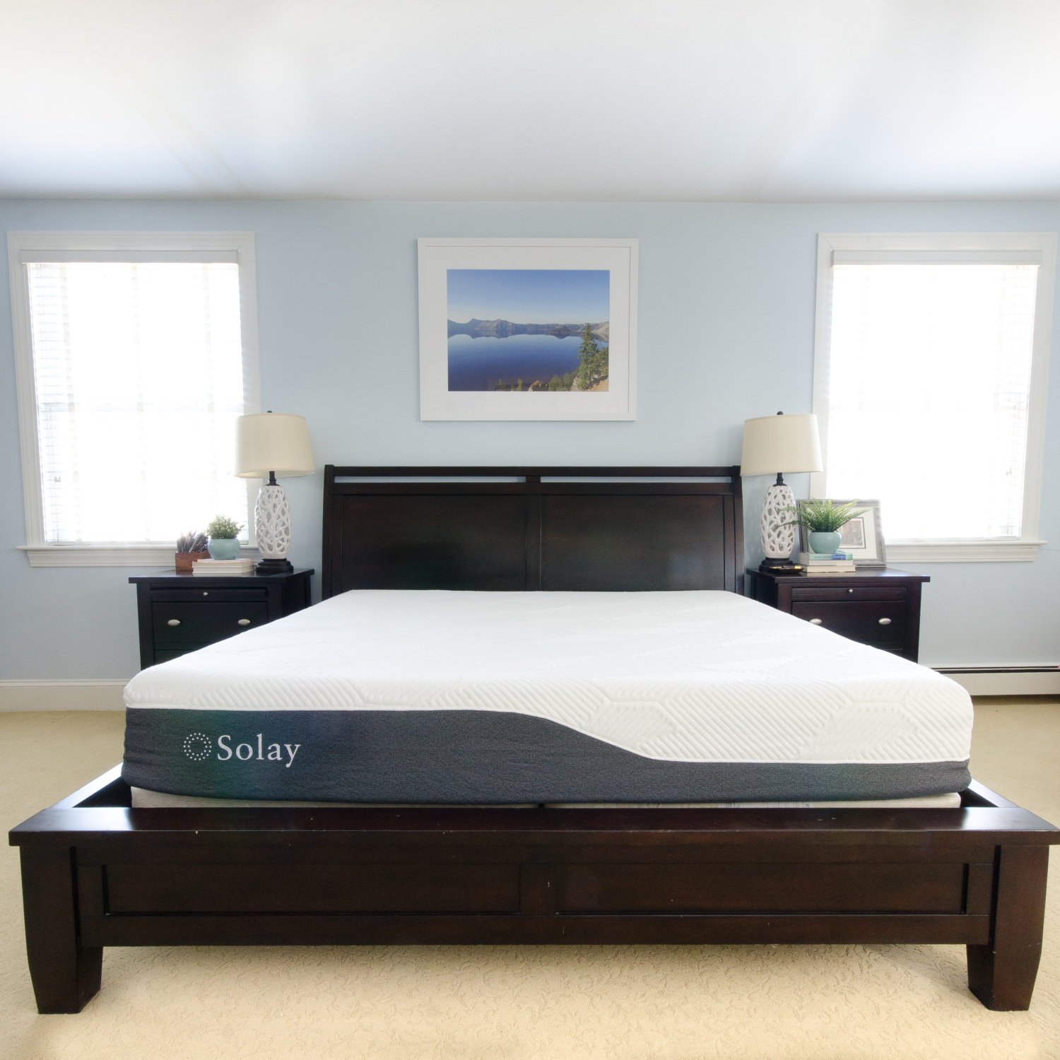 bed in a box review of solay sleep mattress plus 20 off with code. Black Bedroom Furniture Sets. Home Design Ideas