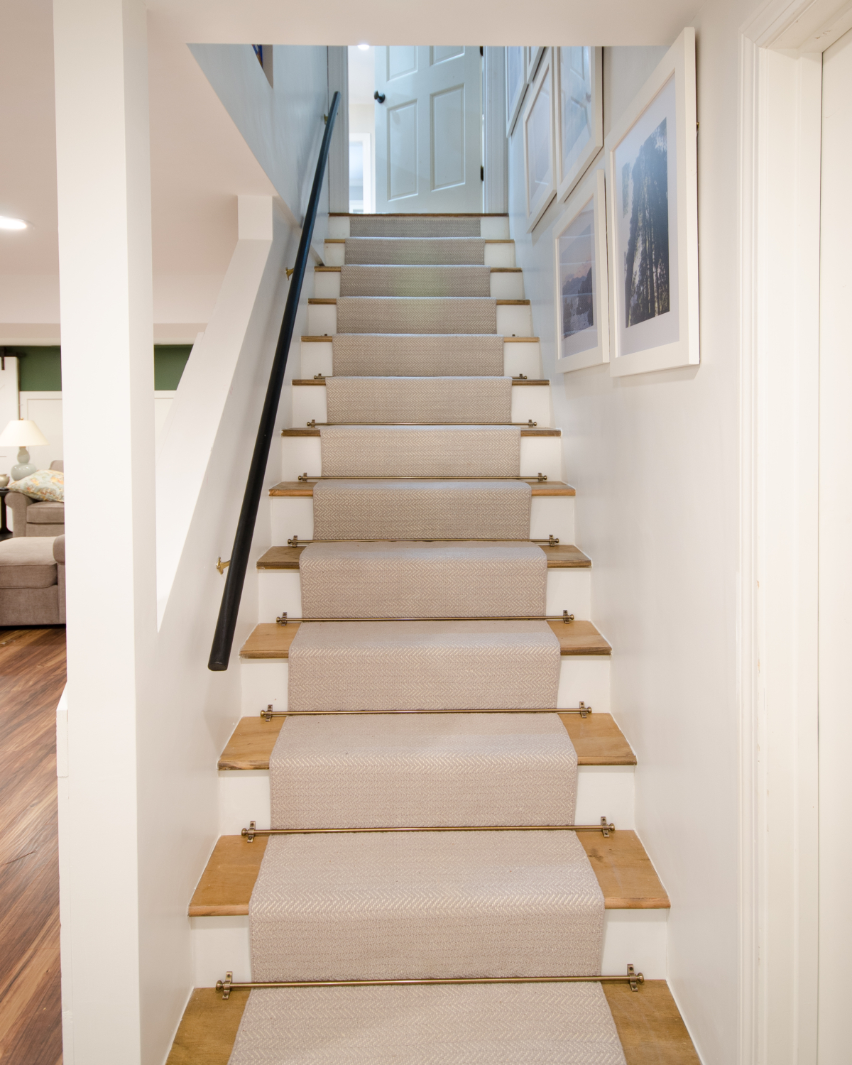 How to Install a Stair Runner - The Chronicles of Home