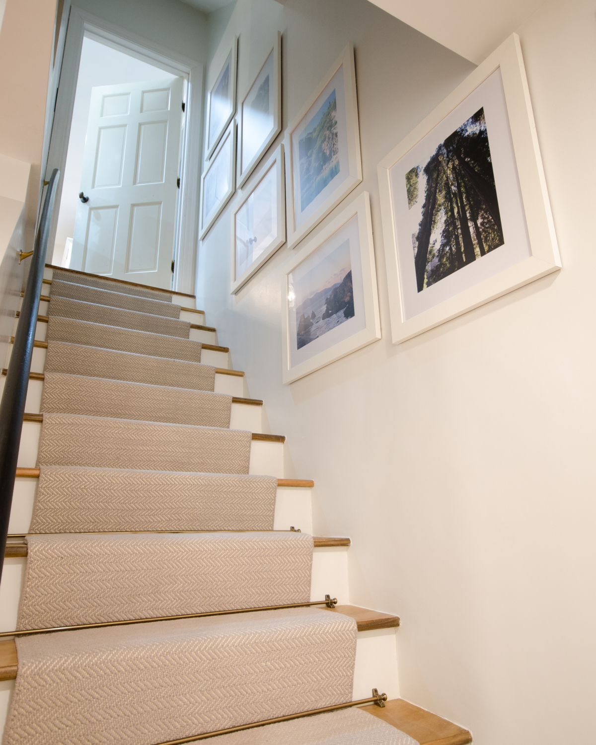 An easy tutorial showing you how to install a stair runner yourself!