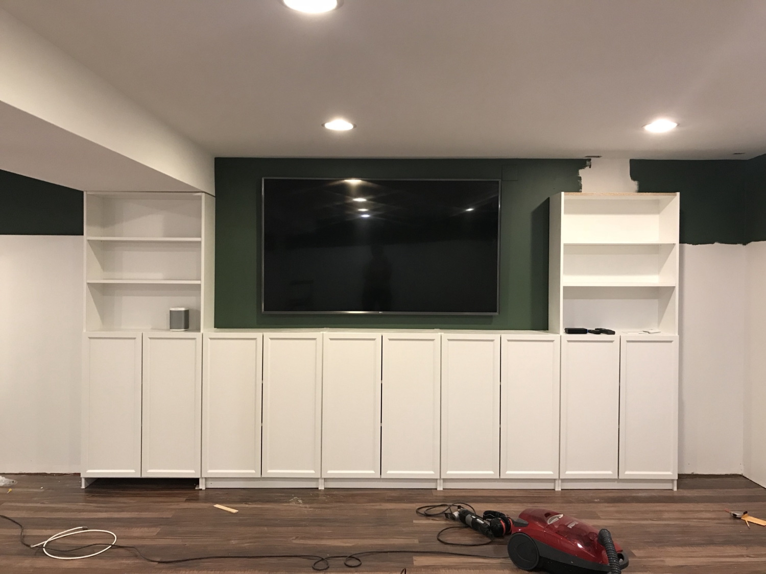How To Turn Billy Bookcases Into Built Ins The Chronicles