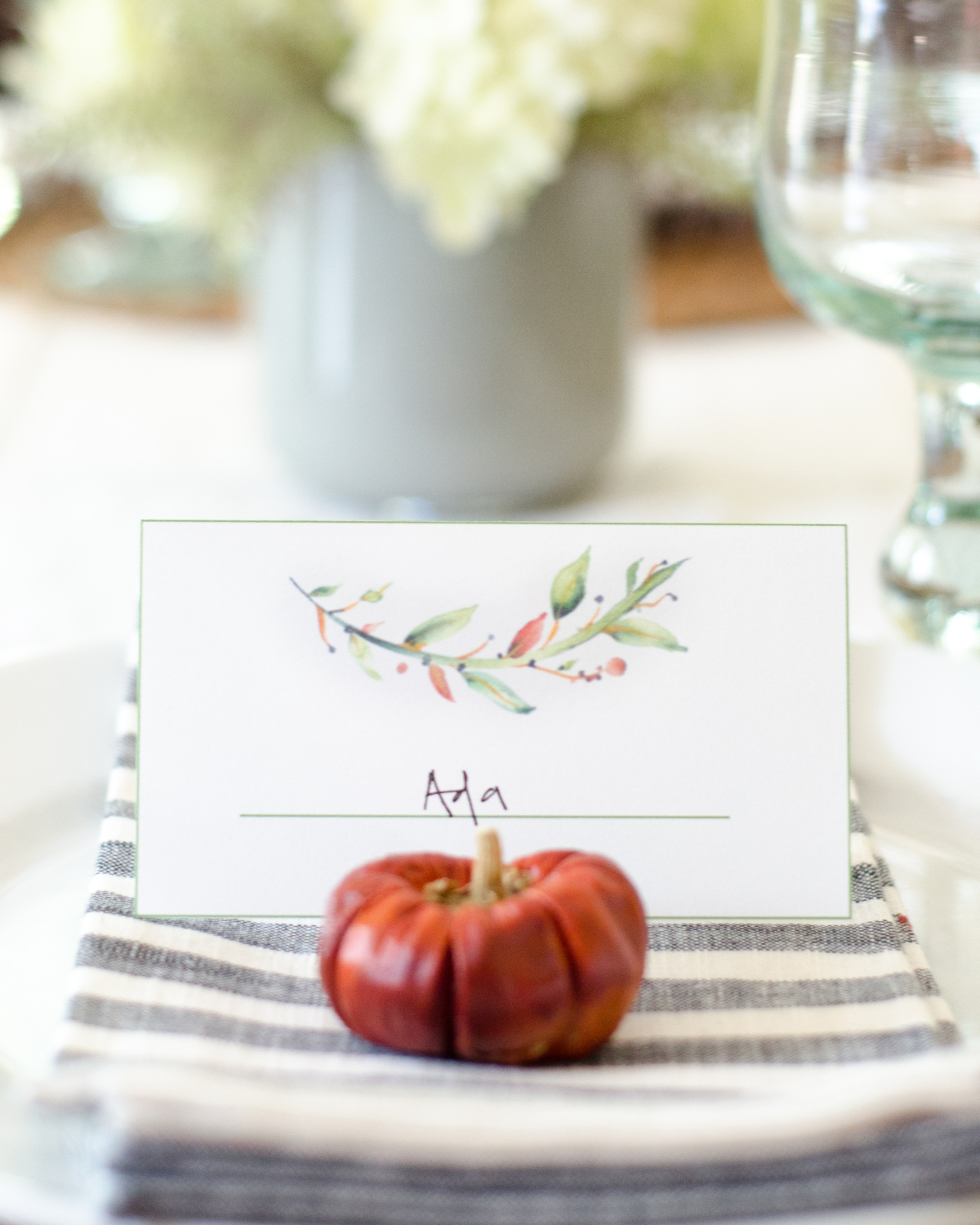 Free printable fall placecards the chronicles of home free printable fall placecards solutioingenieria Images