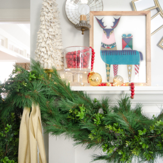 Christmas Reindeer Print {Free Christmas Printable}